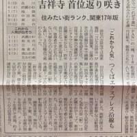 住みたい街ランキング2017版(関東地区)