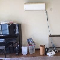 居間の収納・パソコン台が完成