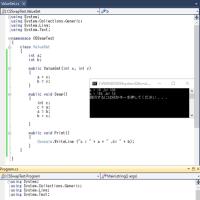 C#で遊んでました。暫くぶりに。Swapについて