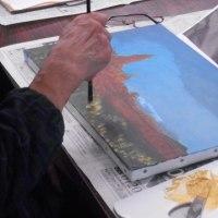 「油彩画に夢中になる2日間 美しすぎる風景画」(2日目)レポート