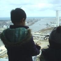 新潟日報メディアシップ20階からの眺め^^