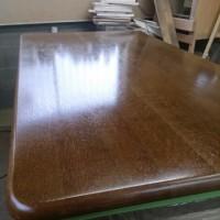 先日のテーブル塗装工事!
