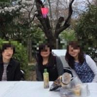今年の花見会は5分咲き(^^)