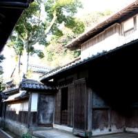 冬の晴れ間の日本海/中村家住宅