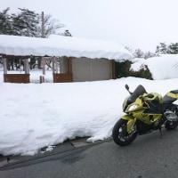 雪国で走る9.9km