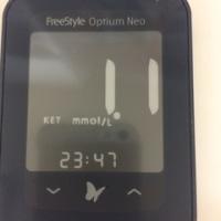 血糖値とケトン体