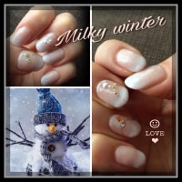 Milky winter