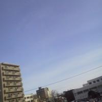 2017/2/22 午前9時過ぎ札幌の空模様   今日は猫の日=^∇^*=にゃ~ん♪