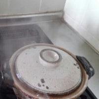 七草粥と とんど焼