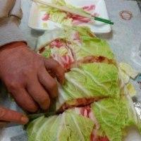 白菜と豚のミルフィーユ鍋
