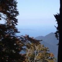 大山より孝霊山と島根半島