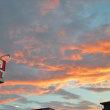 昨日の町田の空は大忙し