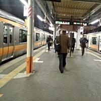 02/21 福生駅着いた