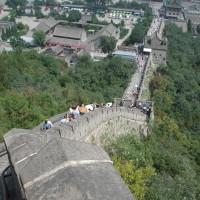 思い出の一枚。中国・北京の万里の長城。