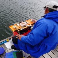ワカサギ釣り情報:丹生湖のワカサギ釣り大会情報、そして鳥撮り・・・