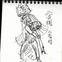 朝日記170113 哲人の友人への手紙 「トランプ騒動」と今日の絵