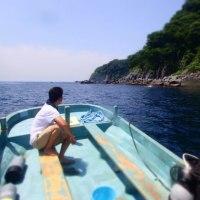 穏やかな北川で2ボート♪