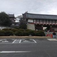 Visit Fushimi Castle, Fujimori Shrine at south of Kyoto city