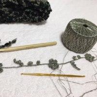 メタルっぽい糸