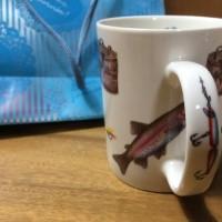 魚のマグカップ