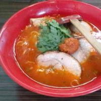 厚木市 本丸亭 赤丸塩らー麺 950円+味玉100円