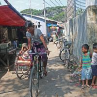 ミヤンマー ヤンゴン市内の寺小屋