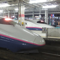 夜の仙台駅にて…