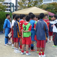 サッカー部 平成28年度新人戦 一次予選 1日目
