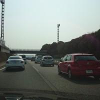 帰省 東名高速の状況