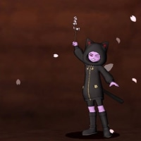 DQ10 おきがえリポちゃん ~男性 黒猫セット女性 白猫セット~