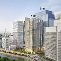 三井物産本社ビル他2棟の再開発の進捗状況 2017年1月12日