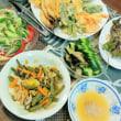 自家製野菜たっぷりde天ぷら♪
