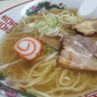 ラーメンおにぎりセット@清水(本多町)