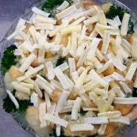 カリフラワーとブロッコリーの味噌マヨグラタン