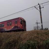 JR和歌山線 万葉集列車④ 走行中の列車撮影2回目