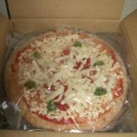 ピザを買った