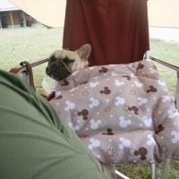 雨降り前にテント撤収~の、ディキャン。