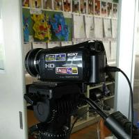 小学校にビデオ撮影ボランティアでした