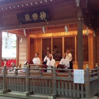 北総例会 野菊の小道と国府台緑地 送別会