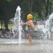 水遊び・・・@庄内緑地公園