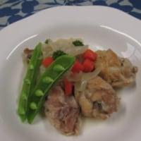 鶏と切り干し大根の白ワイン煮