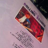 超貴重!既に廃盤の韓国盤「The Best of Rolling Stones」の裏ジャケットは「誤字だらけ」の「エラー盤」なんです!