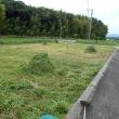 バーベキューコンロ買い換え、草刈り続行(2017/7/18)