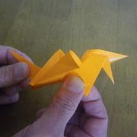 羽ばたく小鳥の折り紙にびっくり!・・・有田町三木会2017.3.28