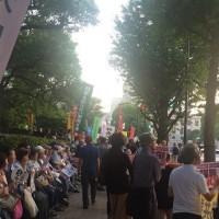 6.19国会包囲行動に3,500人