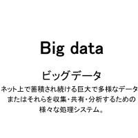 ビッグデータ