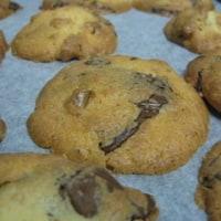チョコと胡桃のドロップクッキー