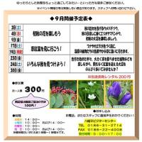 ガイドウォーク9月予定表