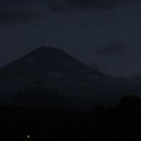 早朝だけの富士