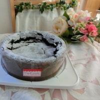 今日のバースデーケーキ